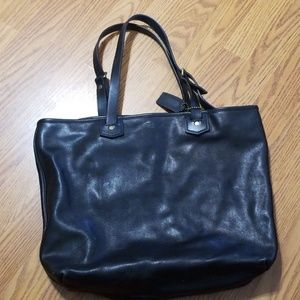 Real Leather Coach Bag (Used as work bag)